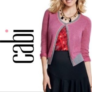 Cabi Pink Button Front Meg Cardigan Style#3013